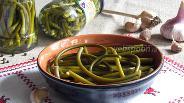 Фото рецепта Маринованные стрелки чеснока