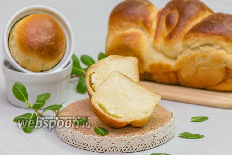 Фото Хлеб на мучной заварке с сыром Фета