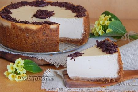 Сырник с кремом из ряженки