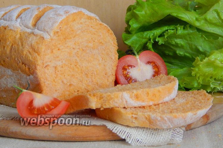 Фото Томатный хлеб