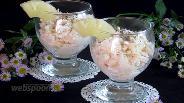 Фото рецепта Пикантный салат из ананаса, курицы и сыра