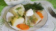 Фото рецепта Рыба в пряном отваре