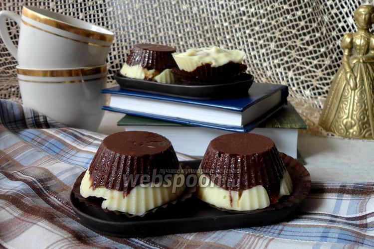 Фото Шоколадные конфеты с сухофруктами