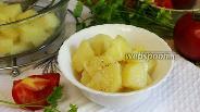 Фото рецепта Молодой картофель в микроволновке