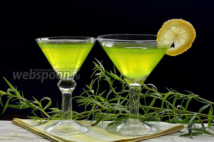 Фото Домашний лимонад «Тархун»