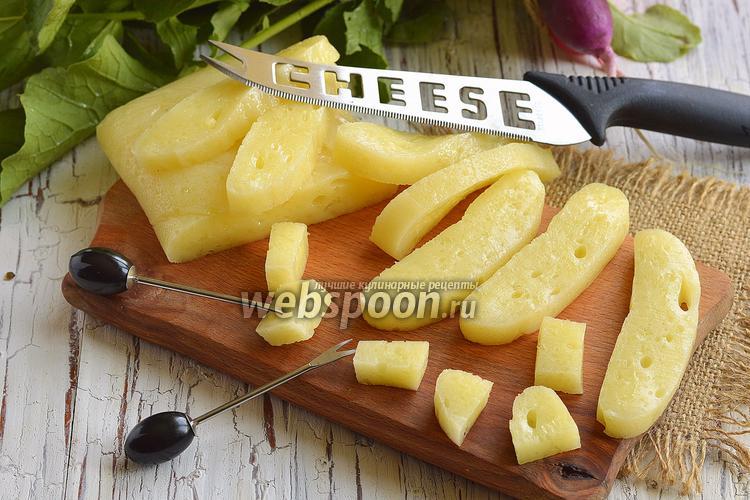 Фото Диетический плавленый сыр