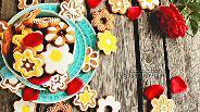 Фото рецепта Печенье «Цветочки»