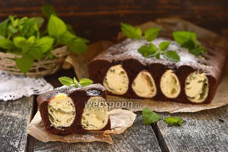 Шоколадно-творожный пирог «Лисьи норы»