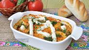 Фото рецепта Кабачки запечённые в соусе маринара