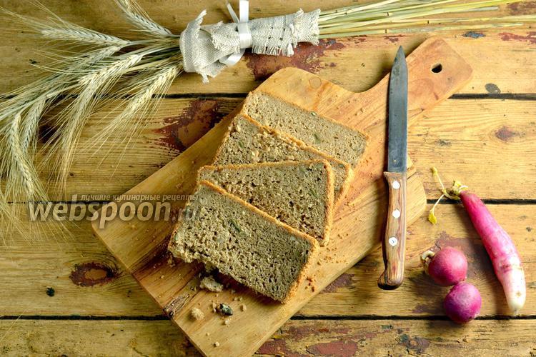 Фото Многозерновой хлеб в хлебопечке