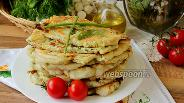 Фото рецепта Плацинды с творогом и зеленью