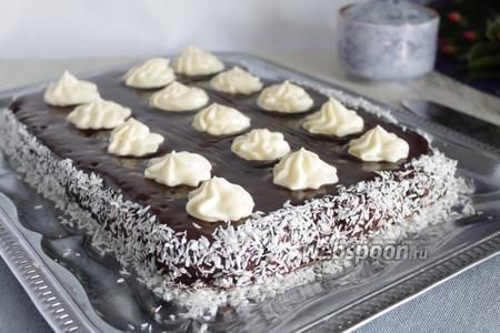 Быстрый шоколадный кухен без яиц
