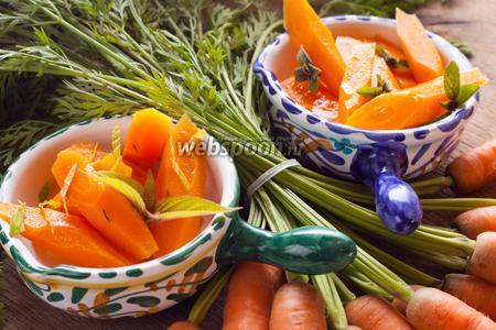Морковь маринованная по-пьемонтски