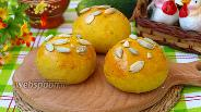Фото рецепта Булочки с карри и тыквенными семечками