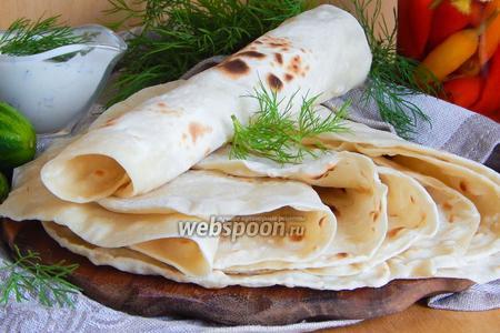 Тонкий армянский лаваш на сковороде видео рецепт