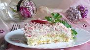 Фото рецепта Крабовый салат «Нежный»