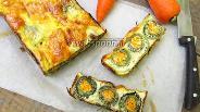 Фото рецепта Кабачковые рулетики с морковью под яичной заливкой