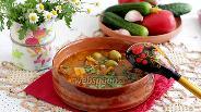 Фото рецепта Чечевичный суп с говядиной