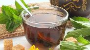 Фото рецепта Мятный чай с сушёной вишней
