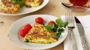 Фото рецепта Сырная лепёшка на сковороде