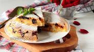 Фото рецепта Кекс-пирог с карамелизованным черносливом