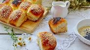 Фото рецепта Булочки с кунжутом и маком