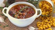 Фото рецепта Рагу из говяжьей ножки по-итальянски