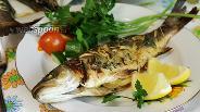Фото рецепта Сибас в горчично-медовом маринаде