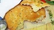 Фото рецепта Фокачча с тимьяном и чесноком