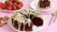 Фото рецепта Шоколадно-ореховый кекс без муки