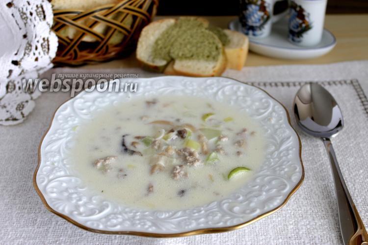 Фото Немецкий сырный суп