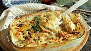 Фото рецепта Картофельно-яблочный гратен с Маскарпоне