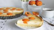 Фото рецепта Пирог с абрикосами из творожного теста
