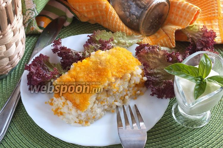 Фото Рисовый пирог с треской