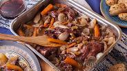 Фото рецепта Стифадо из кролика