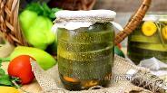 Фото рецепта Маринованные кольца цукини