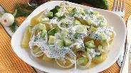 Фото рецепта Закуска из картофеля в сметанно-икорном соусе