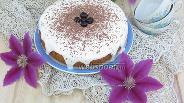 Фото рецепта Вишнёвый пирог в мультиварке