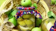 Фото рецепта Консервированная ванильная груша