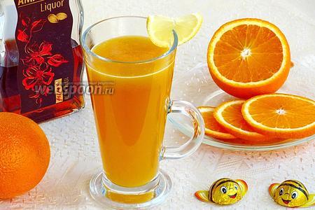 Десертный напиток «Горячее золото»