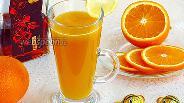 Фото рецепта Десертный напиток «Горячее золото»