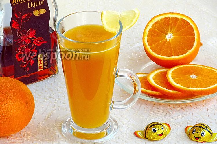 Фото Десертный напиток «Горячее золото»