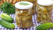 Фото рецепта Зимний салат из огурцов