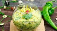 Фото рецепта Гуакамоле с кукурузой по-мексикански