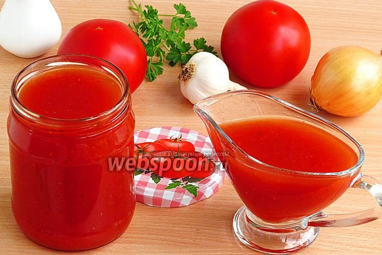 Фото Томатный соус в мультиварке