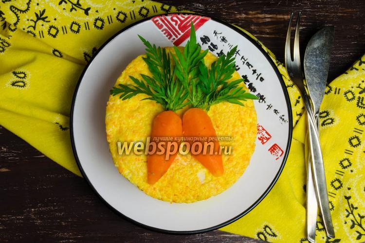 Фото Суфле морковное с творогом на пару