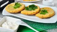 Фото рецепта Пышки с чесноком и укропом