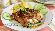 Фото рецепта Куриные бёдра в апельсиново-имбирном маринаде