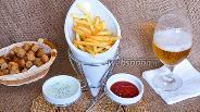 Фото рецепта Картофель фри почти без масла в мультипечи