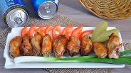 Фото рецепта Куриные крылышки BBQ в устричном соусе